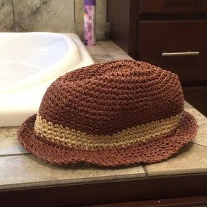 Soft floppy styled straw hat